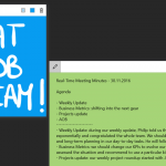 iInking and typing with CollaBoard, productivity app