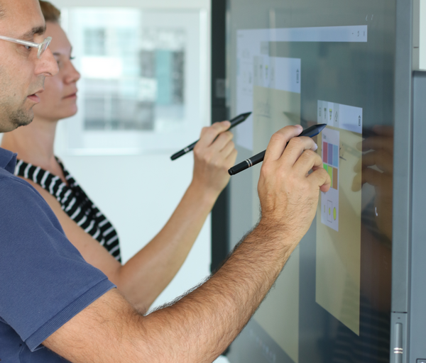 Der Impact des Surface Hub auf unsere Marketing Meetings
