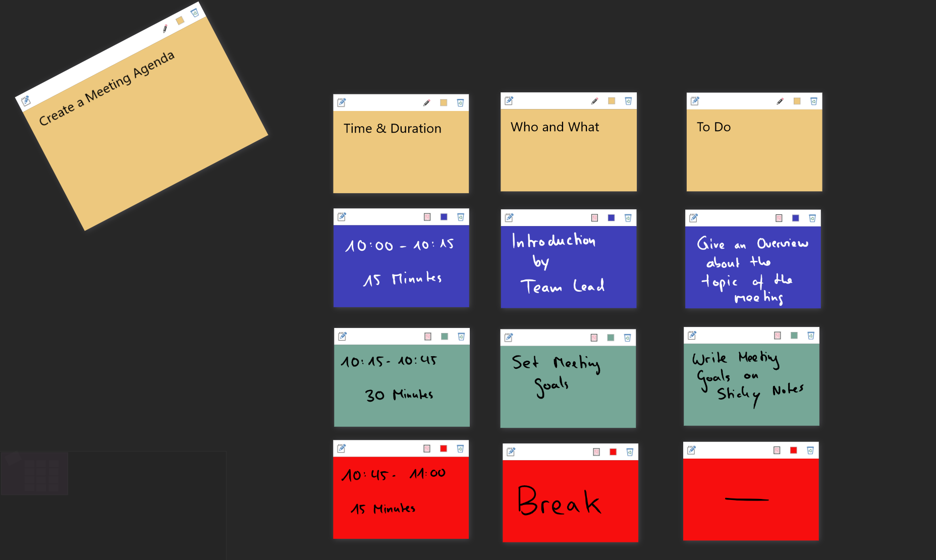 A New Feature Project Templates These Are Predefined Projects Filled With The Right Tiles To Easily Jump Start Meeting Brainstorming Session Or