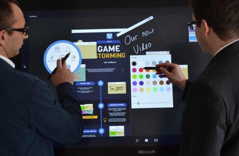 CollaBoard on Surface Hub
