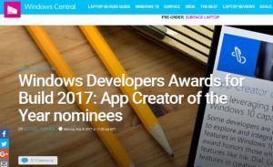 Windows Developers Award