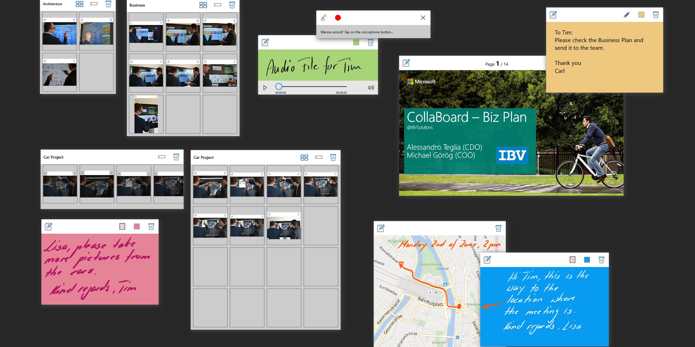 Surface Hub, CollaBoard