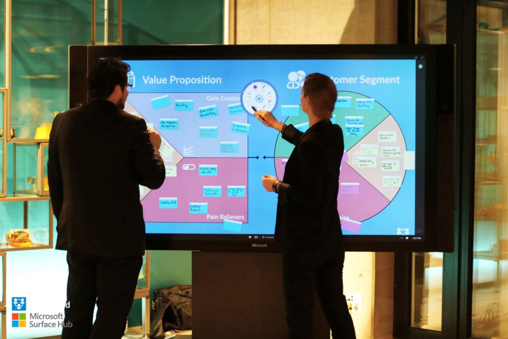 Value Proposition Canvas with CollaBoard