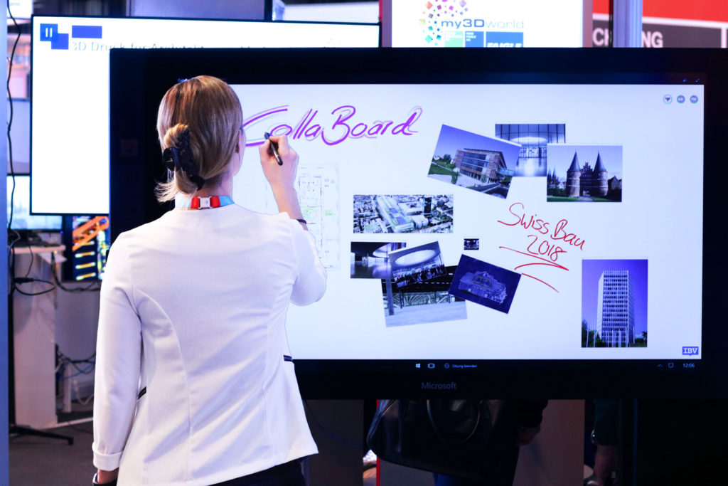CollaBoard-Surface Hub Swissbau 2018