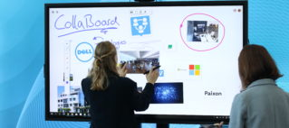 IBV presenting CollaBoard at the DELL Technology Forum in Zurich